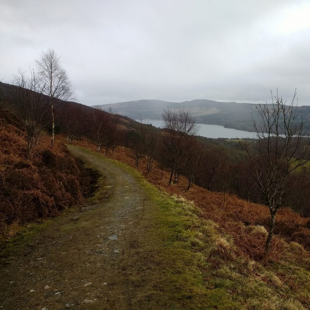 Path above Lendrick Hill in the Trossachs
